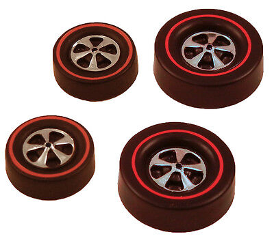 8 Small Deep Dish Bright Chrome Style 8 Brightvision Redline Wheels