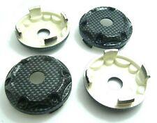 4x No LOGO Wheel Center cap hubs Tuning Car Gray Finished 68mm x 62mm #63-1
