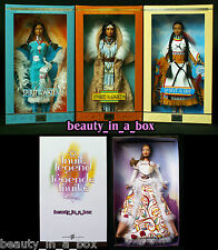 Spirit of the Sky Barbie Doll Water Earth Inuit Legend Native American Lot 4 EXC