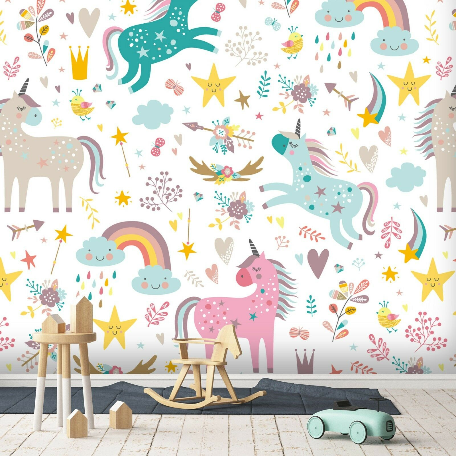 3D Rosa Einhorn 940 Tapete Wandgemälde Wandgemälde Wandgemälde Tapete Tapeten Bild Familie DE Sidney | Gewinnen Sie hoch geschätzt  4f35e1