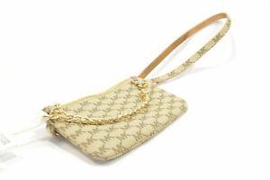 Michael-Kors-554131C-Khaki-Small-MK-Signature-Logo-Ladies-Chain-Belt-Bag
