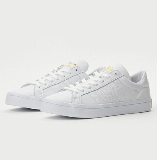 Adidas Originals Tribunal Vantage (BB0147) Blanco Zapatos Skate Zapatos Blanco Tenis Deportivas d03f47