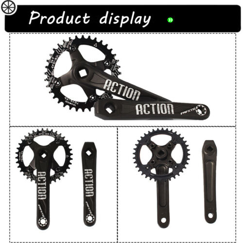 30-42T 104BCD 170mm Crank MTB Bike Narrow Wide Chainring Sprocket Chain Ring CNC