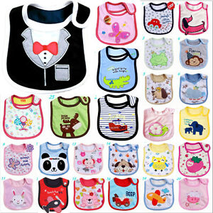 Kids-Toddler-Waterproof-Cartoon-Lunch-Bibs-Baby-Infant-Animal-Saliva-Towel-Bib