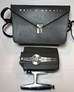 Bell & Howell Super Eight Autoload Optronic Eye Model 306 Film Camera with Case