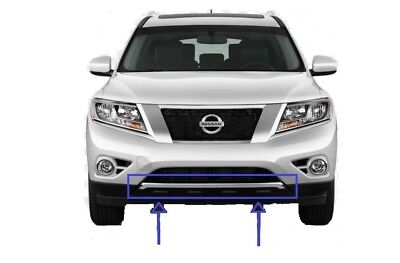 New NI1044108 Front Bumper Trim for Nissan Pathfinder 2013-2014