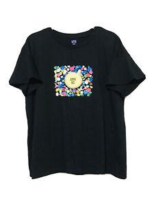 Anna Sui Black Cotton Tshirt