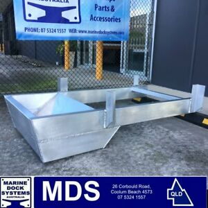 PONTOON-OUTBOARD-MOTOR-BRACKET-SUIT-PONTOONS-PARTY-BOAT-HOUSEBOATS-ALUMINIUM-NEW