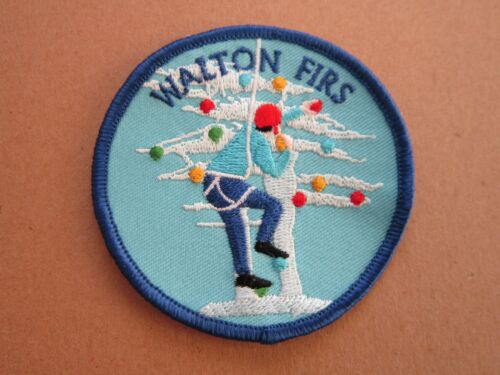 Walton Firs Cloth Patch Badge Boy Scouts Scouting L5K G