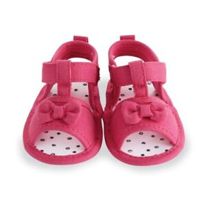 Details about Mud Pie E8 Baby Girl Pink Pre Walker Sandals Shoes 1532454 Choose Size