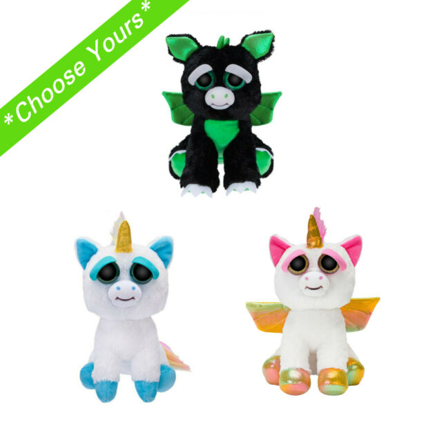 Feisty Pets Paranoid Prisma Rainbow Unicorn 9 Inch Plush With Tag White for sale online