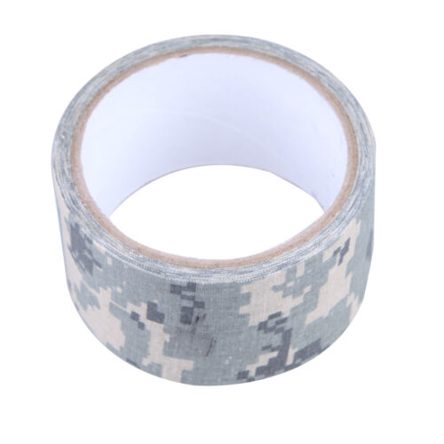 5CMx5M Camo ACU Wrap Outdoor Forest Hunting Camping Tape Waterproof Bionic