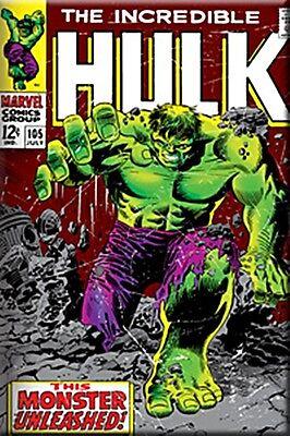 Incredible Hulk 102 Cover Fridge refrigerator magnet Marvel Comic book art E12