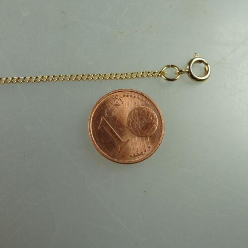 Feine Rundanker Kette Gold Double 1,4 mm 42 cm (41396)