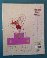 """Carte personnage n°18 """"Astérix aux jeux Olympiques"""" action MATCH CORA DELHAIZE"""