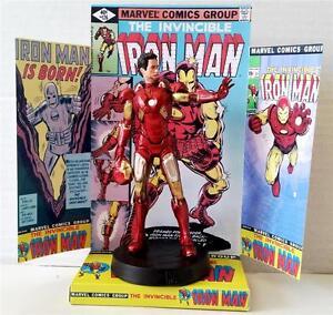 f649c5d2ff4 La foto se está cargando Marvel-Comic-Iron-Man-Stark-13cm-Figura-de-