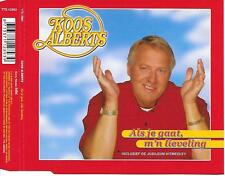 KOOS ALBERTS - Als je gaat m'n lieveling CD SINGLE 2TR Sony 2003 Holland