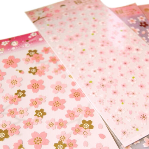 Cherry Blossom Stickers Sakura Flower Floral Craft Scrapbook Card .