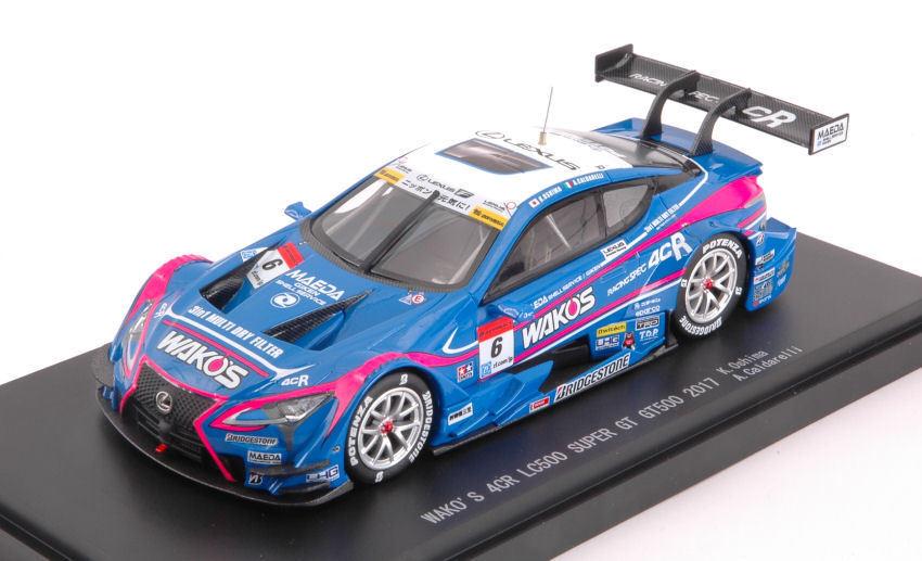 Lexus lc500  6 3rd Super GT 500 2017 K. Oshima A. Caldarelli 1 43 Model 45522