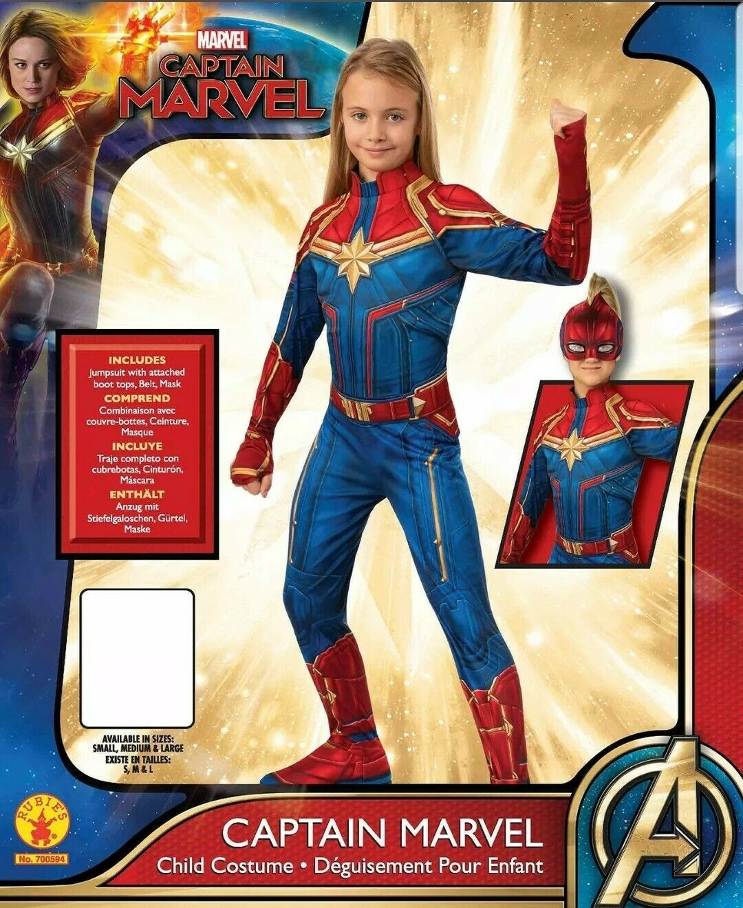 Girls Captain Marvel Hero Suit Deluxe Superhero Costume Dress Up Pretend Play Toys Games Alibaba.com offers 896 captain marvel costume products. monetariza solucoes financeiras empresariais