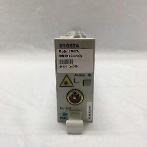 HP-Agilent-81662A-DFB-Laser-Source-Module-Opt-325