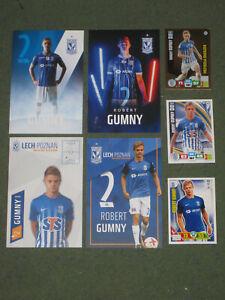 7x POLEN Robert Gumny (Lech) FC Augsburg OHNE UNTERSCHRIFTEN