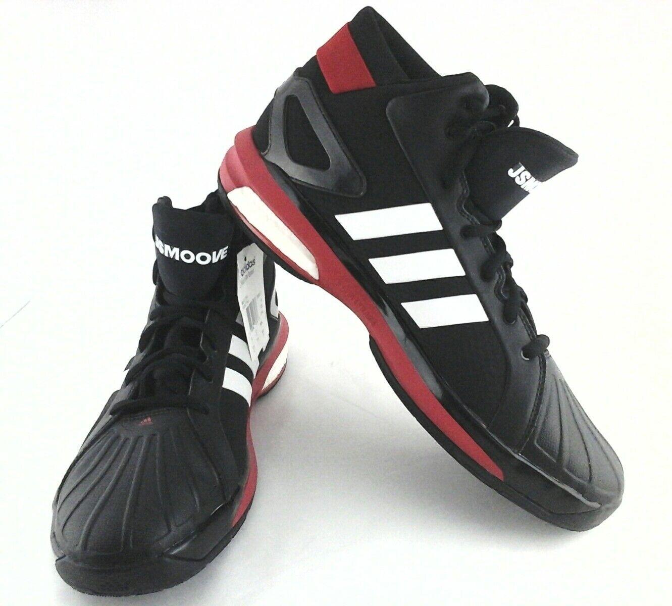 ADIDAS FUTURESTAR BOOST Mens Basketball Shoes Black/White US 13.5 /3 150