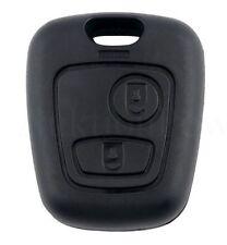 Gehäuse für Peugeot Schlüssel 2 Tasten Funkschlüssel 106 206 207 306 307 806 NEU