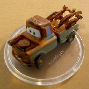Corinthian Disney Cars MATER D074 Micro World 4.5cm All Plastic No Moving Parts
