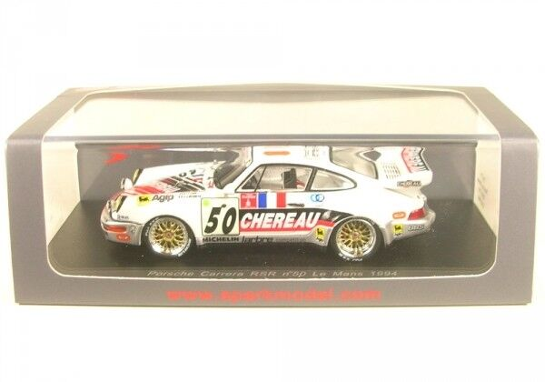 Porsche Carrera RSR No.50 LeMans 1994 (P. (P. (P. Yver - J-L Chereau - J. Leconte)  | Die Farbe ist sehr auffällig  9c5604