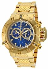 @NEW Invicta 50mm Subaqua Noma III Swiss Made High Polish Gold Tone Watch 14501