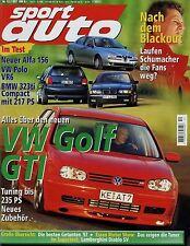 sport auto 12/97 1997 Eibach AMG CLK-GTR Jaguar XJR Rinspeed Mono Zender Escape