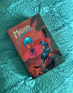 Medea-Harlan-039-s-World-Kelly-Freas-Frank-Herbert-Book-Signed-by-Harlan-Ellison