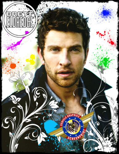 "Brett Eldredge /""Country Music/"" Personalized T-shirts"