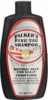 4 Pack Packers Pine Tar Shampoo Natural Help For Scalp Conditions 8 Oz Each on sale