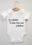 Funny New Baby Grow Bodysuit Vest Top Unisex Gift My Godfather is better than..