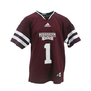 Details about Mississippi State Bulldogs Kids Youth Size Official NCAA Adidas Football Jersey