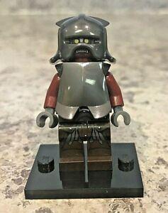 Genuine-LEGO-LOTR-Hobbit-Minifigure-Uruk-Hai-Helmet-Armor-Complete-lor008
