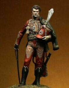 1-20-90mm-Resin-Figure-Model-kit-Napoleonic-General-Unassambled-Unpainted