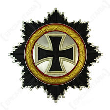 1957 ORDER OF THE GERMAN CROSS - GOLD - Repro WW2 Military Bravery Award Badge