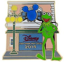 Disney Jim Henson Muppets Chase Visa Cardmember Collection Kermit the Frog pin