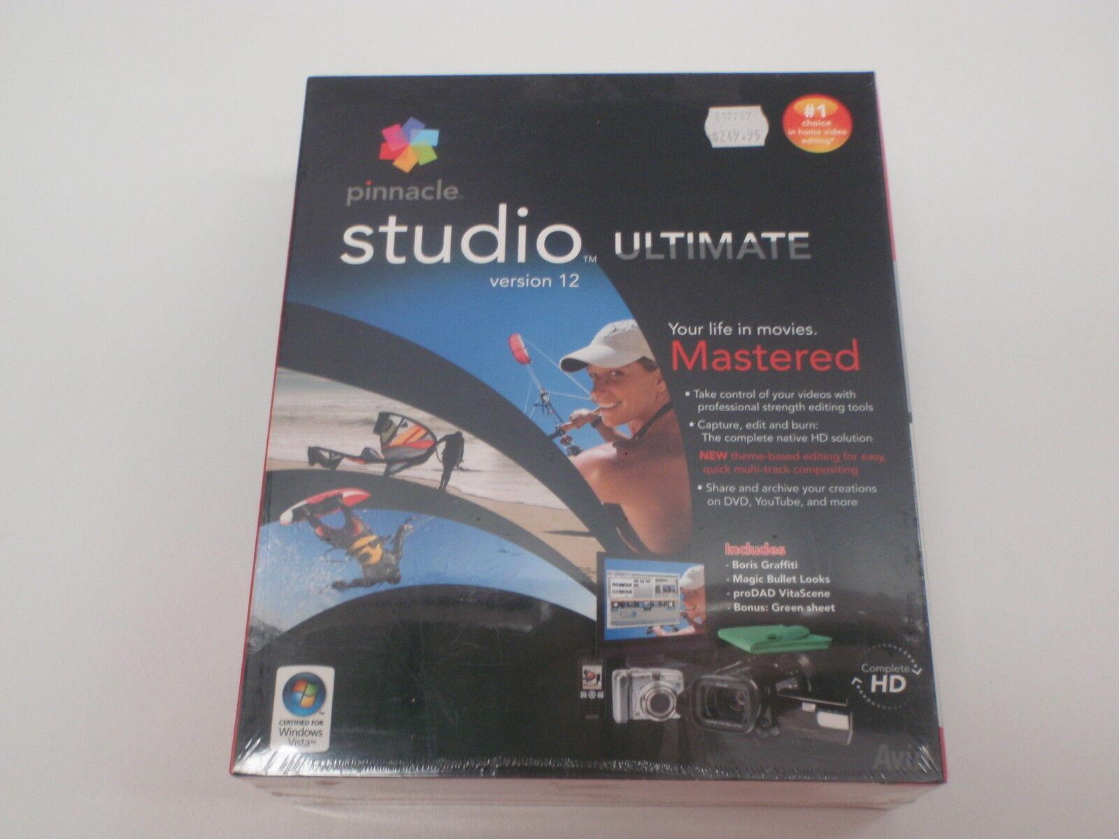 Pinnacle Studio 12 Ultimate Cheap License