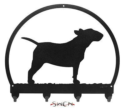 Bull Terrier Metal Key or Leash Hanger *NEW*