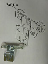 20 FRONT ACME WARDROBE ROLLER TWIN WHEEL FRONT BI-PASS DRAWER ROLLER 832750