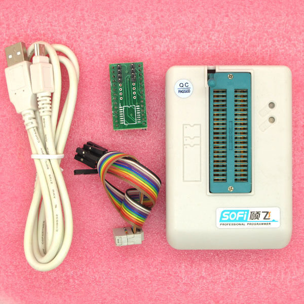 Universal SP8 EEPROM Flash SPI BIOS USB Programmer support about 4000 with chips
