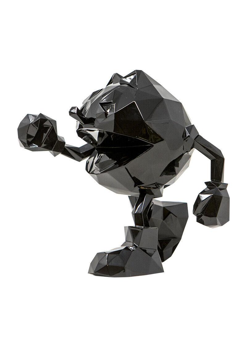 "Richard Orlinski "" Pac Man schwarze "" 2019 Sculpture en Résine Signée"