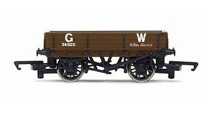 Hornby-R6806-GWR-Great-Western-3-Plank-SWB-Freight-Wagon-OO-Gauge