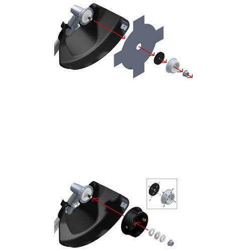OREGON universal Fadenkopf Tap /& Go 539137 Halbautomat für Motorsense bis 33 cc