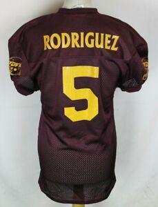 Details about RODRIGUEZ #5 WELLS FARGO BANK TROJANS AMERICAN FOOTBALL  JERSEY MEDIUM TEAMWORK