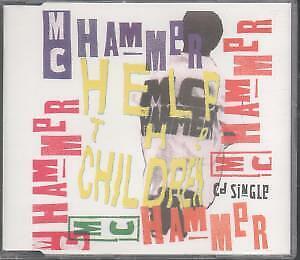MC HAMMER Help the Children CD UK Capitol 1990 3 Track ...